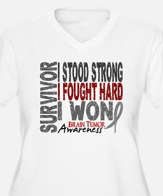 Survivor 4 Brain Tumor Shirts and Gifts T-Shirt