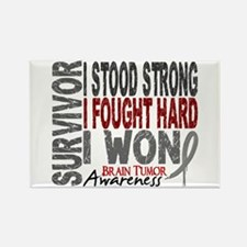 Survivor 4 Brain Tumor Shirts and Gifts Rectangle