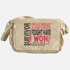 Survivor 4 Breast Cancer Shirts and Gifts Messenge