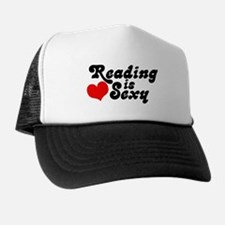 Reading is sexy Cap