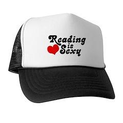Reading is sexy Trucker Hat