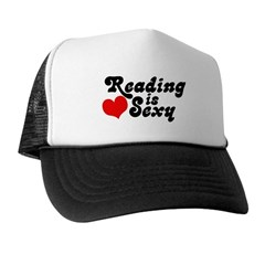 Reading is sexy Trucker Hat