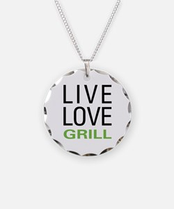 Live Love Grill Necklace