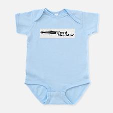 Wood Sheddin' Infant Bodysuit