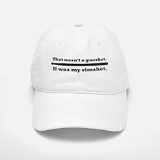Rimshot - snare drum Baseball Baseball Cap