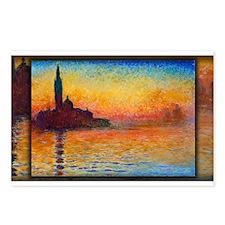 San Giorgio Maggiore at Dusk, Monet, Postcards (Pa