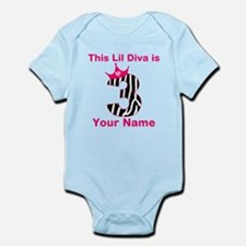 3rd Birthday Diva Infant Bodysuit