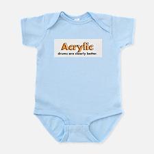 Acrylic Drums Infant Bodysuit