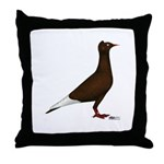 Flying Flight Red Throw Pillow
