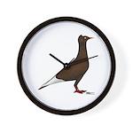 Flying Flight Red Wall Clock
