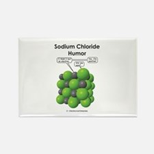Sodium Chloride Humor Rectangle Magnet