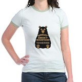 Great smoky mountains national park tennessee bear Jr. Ringer T-Shirt