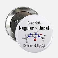 "Regular vs Decaf 2.25"" Button"