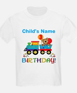 3rd Birthday Train T-Shirt