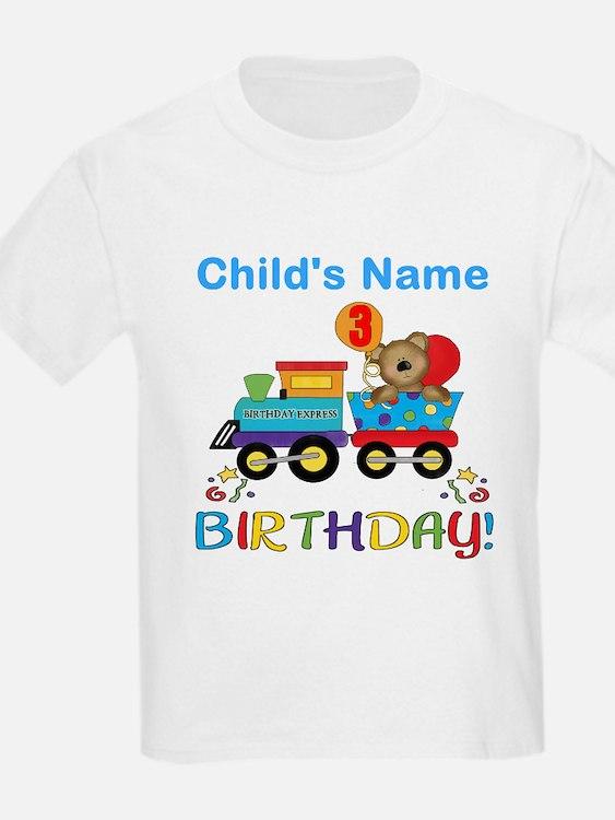 3rd Birthday Train T-Shirt