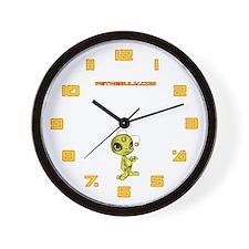 Yellow N.E.L.F Wall Clock