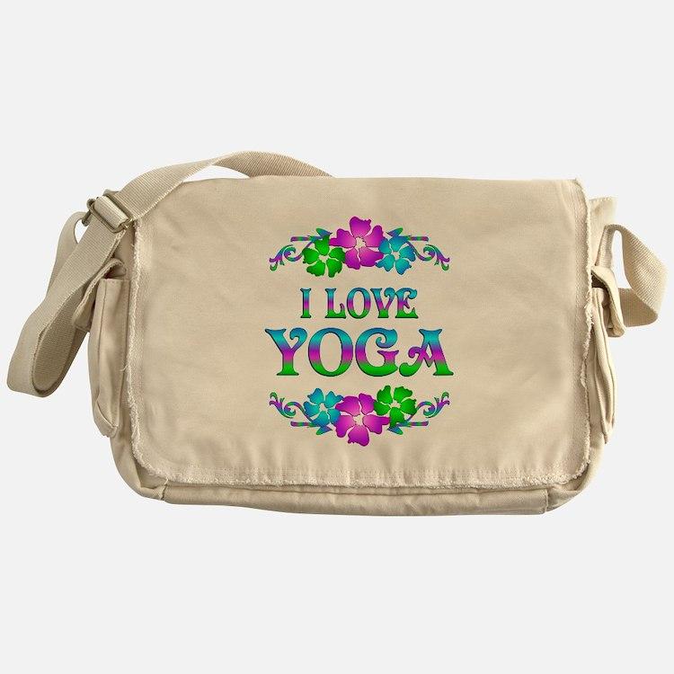 Yoga Love Messenger Bag