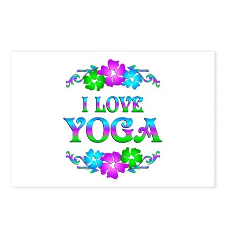 Yoga Love Postcards (Package of 8)