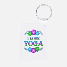 Yoga Love Keychains