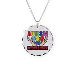 Autism Piece of the Cure Necklace