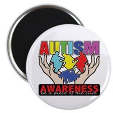Autism Piece of the Cure Magnet