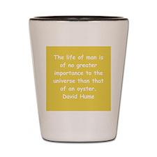 david hume Shot Glass