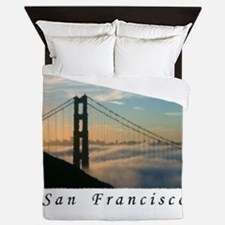 Cute Californian baby Queen Duvet