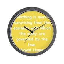 david hume Wall Clock