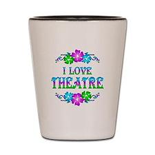 Theatre Love Shot Glass