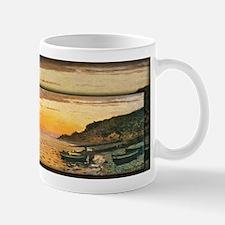 Seacoast at Saint-Adresse, Sunset, Monet, Mug