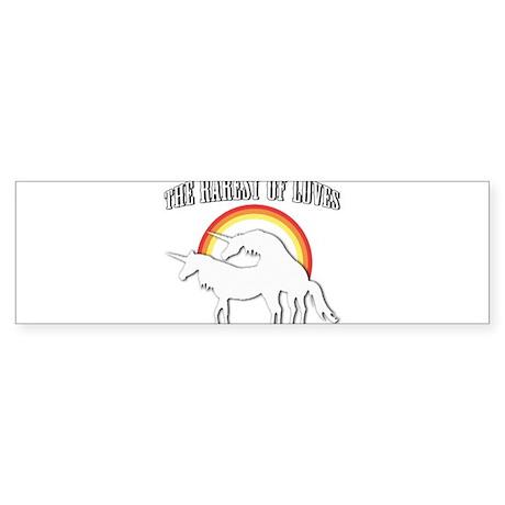 The Rarest of Loves Sticker (Bumper)