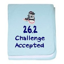 26.2 Challenge Accepted baby blanket