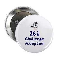 "26.2 Challenge Accepted 2.25"" Button"