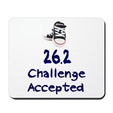 26.2 Challenge Accepted Mousepad