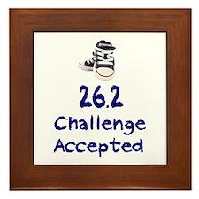 26.2 Challenge Accepted Framed Tile