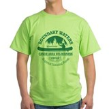 Boundary waters Green T-Shirt