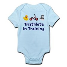 Triathlete in Training Infant Bodysuit