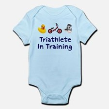 Triathlete in Training Infant Bodysuit