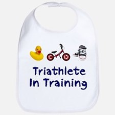 Triathlete in Training Bib