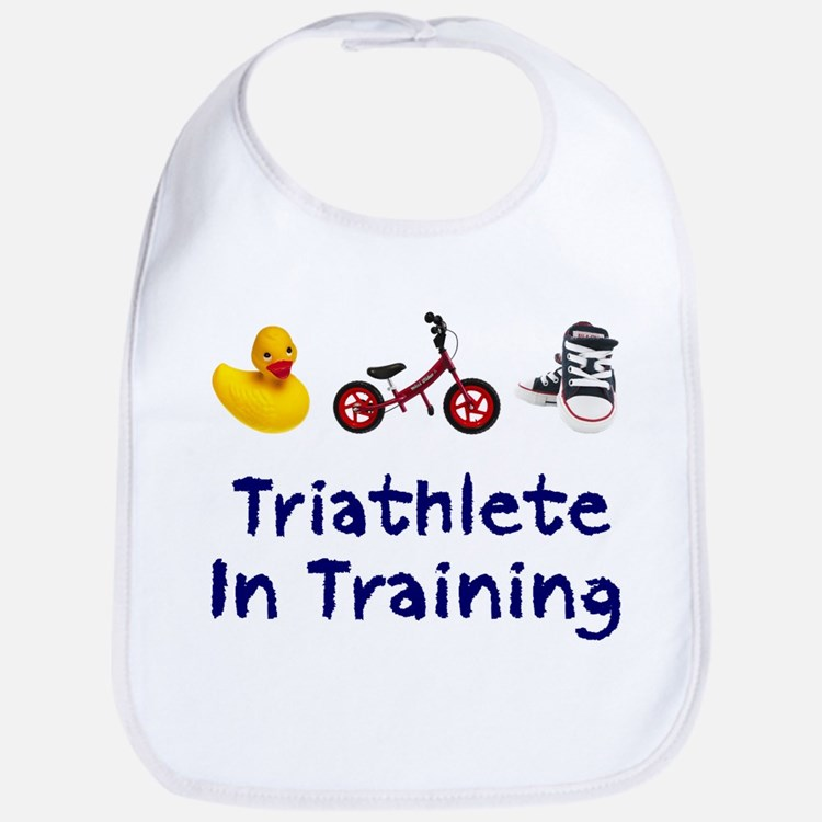 Triathlete in Training Bib