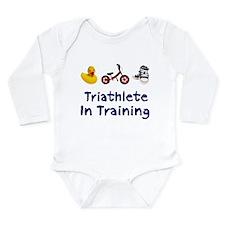 Triathlete in Training Onesie Romper Suit