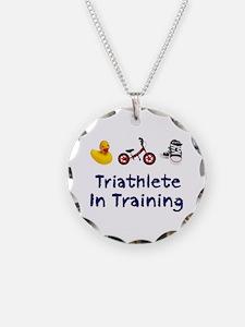 Triathlete in Training Necklace