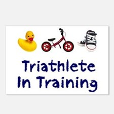 Triathlete in Training Postcards (Package of 8)