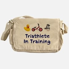 Triathlete in Training Messenger Bag