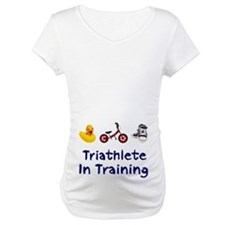 Triathlete in Training Shirt