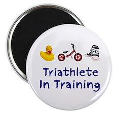 Triathlete in Training Magnet