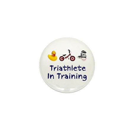Triathlete in Training Mini Button (10 pack)