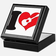 I Love Uke Keepsake Box