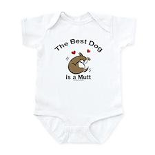 Best Mutt Dog Infant Creeper