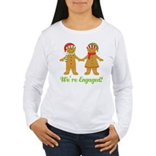 Christmas Engagement Women's Long Sleeve T-Shirt